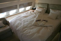 9H-AFK @ KORL - Private bed in Comlux Aviation A319 at NBAA 2008 Orlando - by Florida Metal
