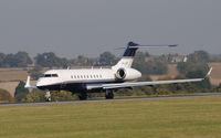 M-LLGC @ EGGW - Bombardier BD-700-1A11 Global 5000 - by Paul Ashby