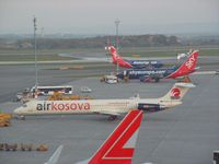 S5-ACC @ LOWW - Air Kosova McDonnell Douglas MD-82