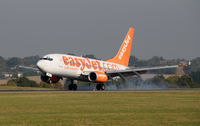 G-EZKG @ EGGW - BOEING 737-73V - by Paul Ashby
