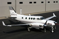 N282TC @ KPAE - This shot was used as our news update photo for an article in the 2008 NBAA shownews, I took it from the top of our forklift!!