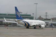 A6-RJZ @ LSGG - Boeing 737-7Z5 (BBJ)