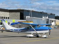 C-GWLM - stop over at Whitehorse, on the way to Alaska - by Mark MacAulay
