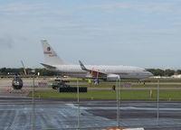 N43PR @ ORL - Boeing 737-700 BBJ
