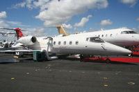 N60LJ @ ORL - Lear 60 at NBAA Bombardier Display