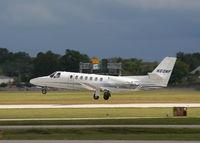 N60NF @ KORL - Cessna 560