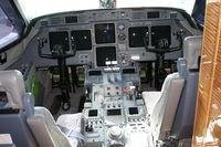 N89HE @ ORL - Cockpit of Gulfstream V at NBAA