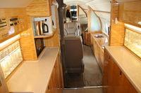 N89HE @ ORL - Gulstream V interior at NBAA