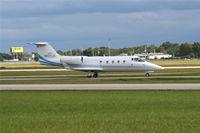 N117LR @ ORL - Lear 55 - by Florida Metal
