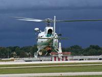 N174SC @ ORL - Seminole County Sherriff AS350 - by Florida Metal