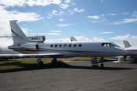 N196FJ @ ORL - Just added to database, Falcon 50 at NBAA
