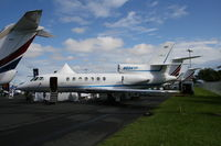 N504YP @ ORL - Falcon 50 at NBAA