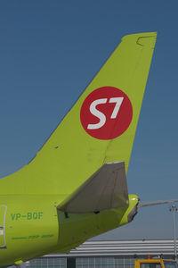 VP-BQF @ VIE - S7 Boeing 737-800
