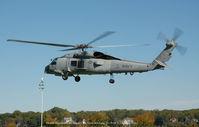 162129 @ USNA - SH-60B 162129 at U.S. Naval Academy 10-19-08 - by J.G. Handelman