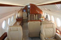 N900EX @ ORL - Interior of Falcon 900LX at NBAA