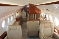 N900EX @ ORL - Interior of Falcon 900LX at NBAA