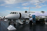 N943RL @ ORL - Falcon 50 at NBAA
