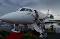 N2000A @ ORL - Falcon 2000EX at NBAA