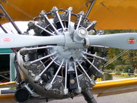 G-AWLO @ EGLG - Great looking radial engine - by Chris Hall