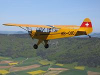 HB-OIO - Piper HB-OIO above the Klettgau - by Rudolf Demmerle