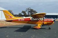 VH-DCR @ YTEM - AAAA fly in