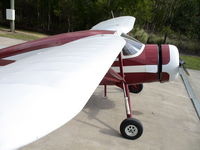 VH-AZL @ CABOOLTURE - VH-AZL. Unusual wing-level photo. Nearly 70 Year-old ex-RAF warbird. - by Tony Lucas