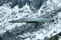 J-3063 @ AXALP - High speed run over the Axalp targets.