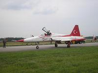 70-3027 @ EHVK - Dutch AF Openday, Volkel AFB , 2007  Turkish Stars - by Henk Geerlings