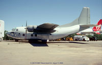 54-0681 @ MHV - C-123K at Mojave CA - by J.G. Handelman