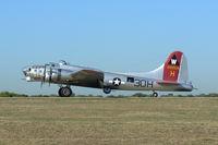 N5017N @ GKY - At Arlington Municipal - EAA B-17G Aluminum Overcast annual tour stop! - by Zane Adams