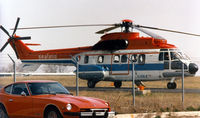 C-GSLB @ GPM - Sealand Helicopters Super Puma at Grand Prairie - by Zane Adams