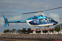 VH-CDS - Cairns Harbour heliport at the Shang-ri-la hotel
