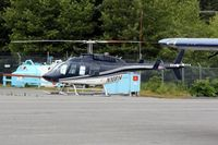 N10814 @ ADQ - This Bell 206L-1 serial 45415 has found a new home in Kodiak, Alaska - by Timothy Aanerud