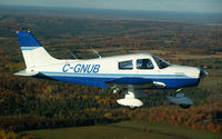 C-GNUB - In flight over Ontario Canada - by J. Soltys