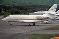 N220AB @ ADQ - Dassault Aviation FALCON 2000 serial 170, on the ramp at Kodiak, Alaska. - by Timothy Aanerud