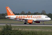 HB-JZN @ LFSB - Easyjet A319 - by Andy Graf-VAP