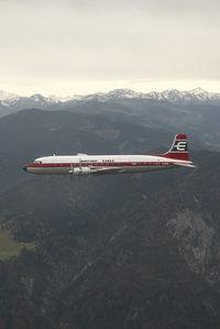 G-APSA @ AIR TO AIR - British Eagle DC6