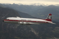 G-APSA @ AIR TO AIR - British Eagle DC6