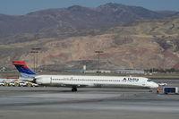 N913DN @ KSLC - MD-90-30 - by Mark Pasqualino