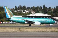 B-5250 @ KBFI - 1st flight over from KRNT as N1786B - by Nick Dean
