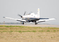 05-3772 @ KAPA - T-6II Texan takeoff on 17L. - by Bluedharma