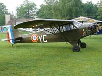 F-BFQD @ LFFQ - Piper J3C-65 Cub painted as French Air Force YC - by Alex Smit