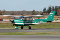 C-GBAF @ CYKF - Taxing to Runway 08 (Canon XT, 70-300mm IS) - by Shawn Hathaway