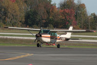 C-GYBV @ CYKF - Taxing to Runway 08 (Canon XT, 70-300mm IS) - by Shawn Hathaway