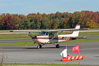 C-GTLY @ CYKF - Taxing to Parking at Waterloo Aiport - by Shawn Hathaway