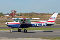 C-GGBN @ CYKF - Taxing to Parking at Waterloo Aiport - by Shawn Hathaway