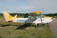 C-GAOA @ MONT LAURI - / - by Nick Dean