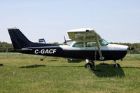C-GACF @ MONTMAGNY - / - by Nick Dean