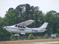 N116WB @ KEYF - N116WB Departing KEYF - by Charles A. Davis Sr.