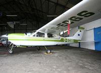 D-ECGS @ LFBH - Inside Airclub's hangar... - by Shunn311